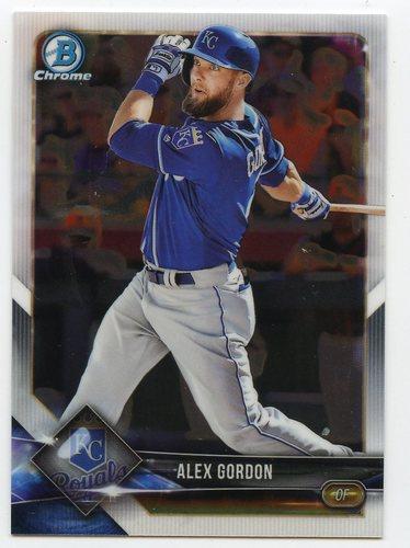 Photo of 2018 Bowman Chrome #23 Alex Gordon