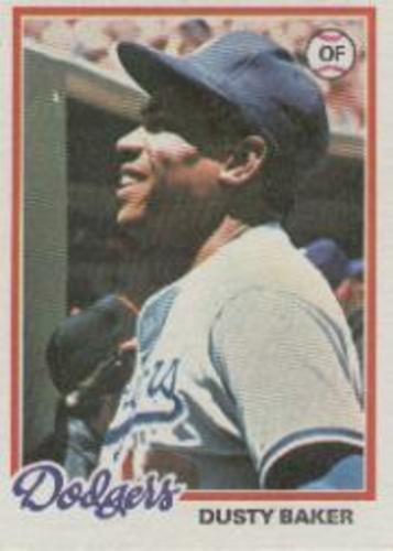 Photo of 1978 Topps #668 Dusty Baker
