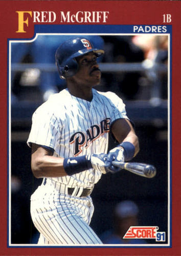 Photo of 1991 Score Rookie/Traded #58T Fred McGriff