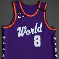 Rui Hachimura - 2020 NBA Rising Stars - Team World - Game-Worn 1st Half Jersey