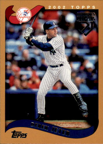 Photo of 2017 Topps Archives Derek Jeter Retrospective #DJ10 Derek Jeter/'02 Topps REPRINT