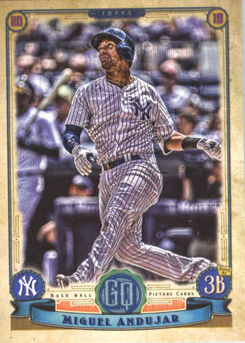 Photo of 2019 Topps Gypsy Queen #103 Miguel Andujar