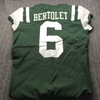 Jets - Taylor Bertolet Team Used Jersey Size 42