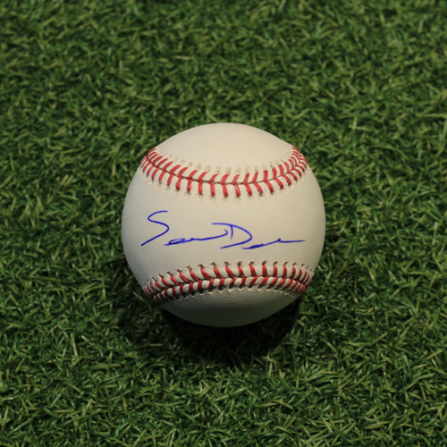 Photo of Autographed Baseball: Samir Duenez