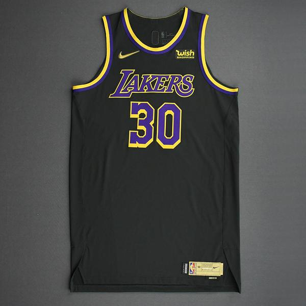 Image of Damian Jones - Los Angeles Lakers- Game-Worn Earned Edition Jersey - 2020-21 NBA Season