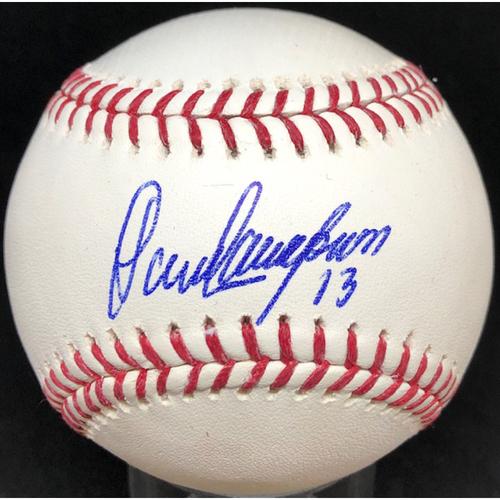 Photo of Dave Concepcion - Autographed Official Major League Baseball