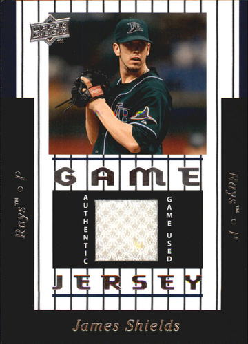 Photo of 2008 Upper Deck UD Game Materials 1997 #JS James Shields