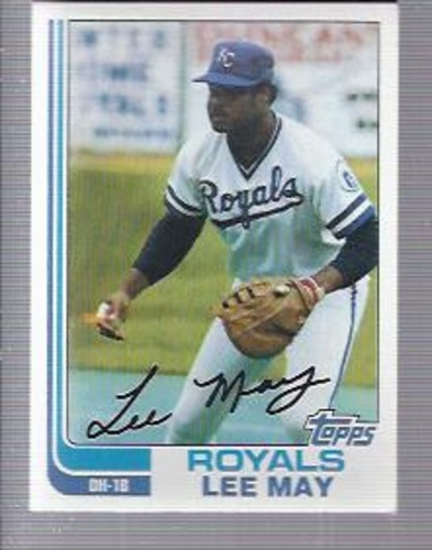 Photo of 1982 Topps #132 Lee May