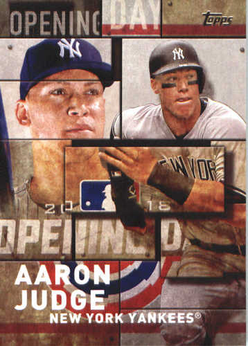 Photo of 2018 Topps Opening Day Insert #OD22 Aaron Judge
