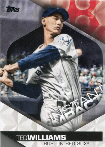Photo of 2018 Topps Instant Impact #II1 Ted Williams
