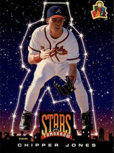 Photo of 1994 Fun Pack #5 Chipper Jones -- Hall of Fame Class of 2018