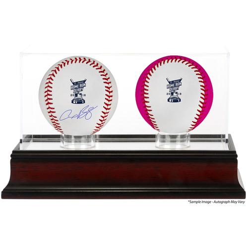Photo of Alex Bregman Houston Astros Autographed 2018 MLB Home Run Derby Baseball, Unsigned Bonus Time Baseball and Home Run Derby Sublimated Display Case with Image - PRESALE