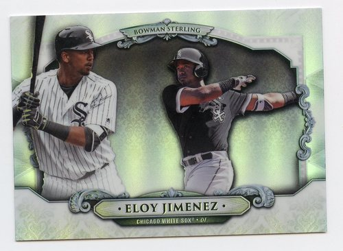 Photo of 2018 Bowman Sterling Refractors #BSEJ Eloy Jimenez