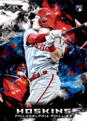 Photo of 2018 Topps Fire #50 Rhys Hoskins RC