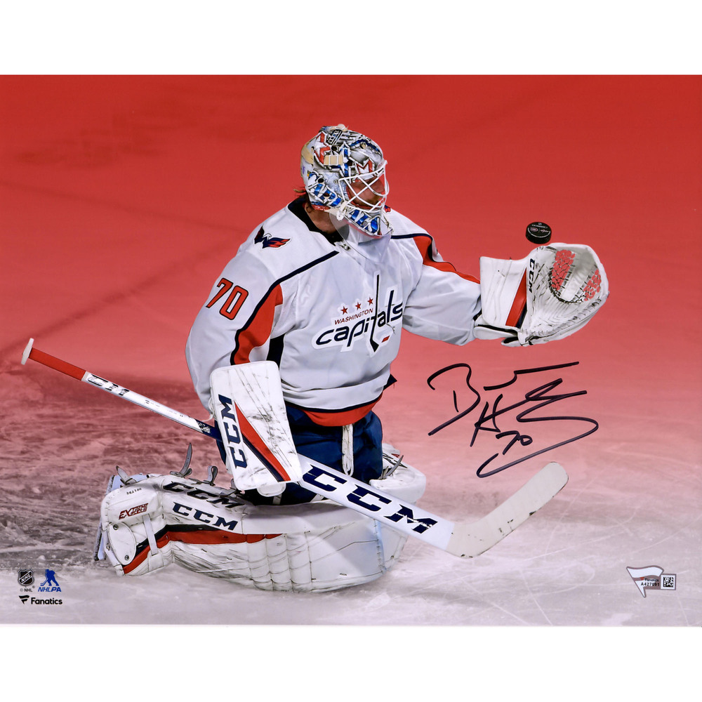 Braden Holtby Washington Capitals Autographed 11