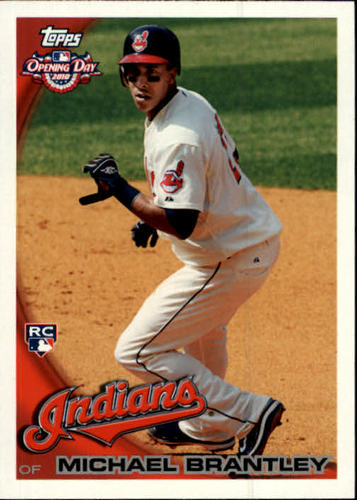 Photo of 2010 Topps Opening Day #218 Michael Brantley RC