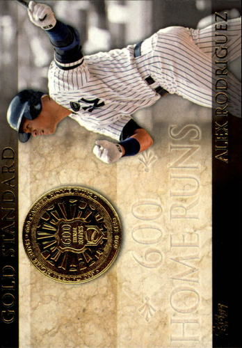 Photo of 2012 Topps Gold Standard #GS13 Alex Rodriguez