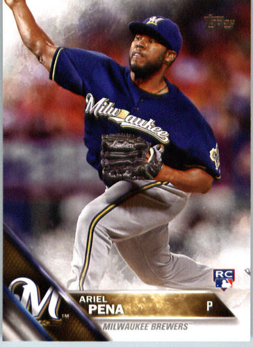 Photo of 2016 Topps #430 Ariel Pena RC