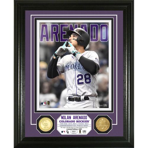 Photo of Nolan Arenado Bronze Coin Photo Mint