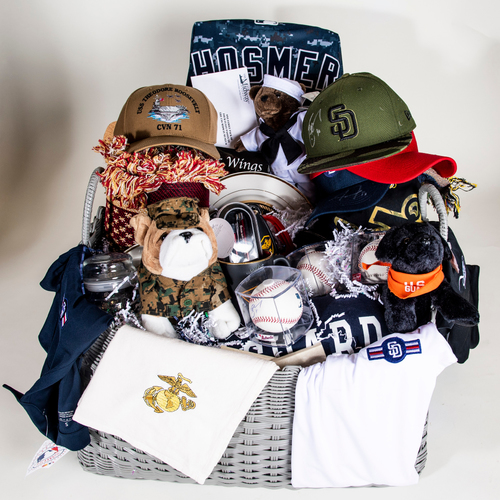 Photo of Padres Military Basket
