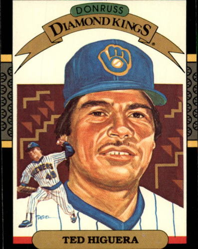 Photo of 1987 Donruss #16 Ted Higuera DK