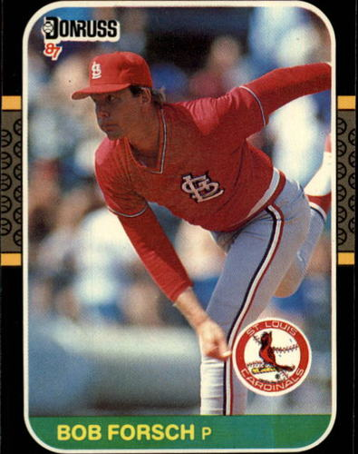 Photo of 1987 Donruss #540 Bob Forsch