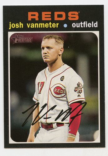 Photo of 2020 Topps Heritage #105 Josh VanMeter