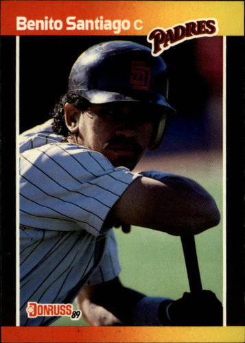 Photo of 1989 Donruss #205 Benito Santiago