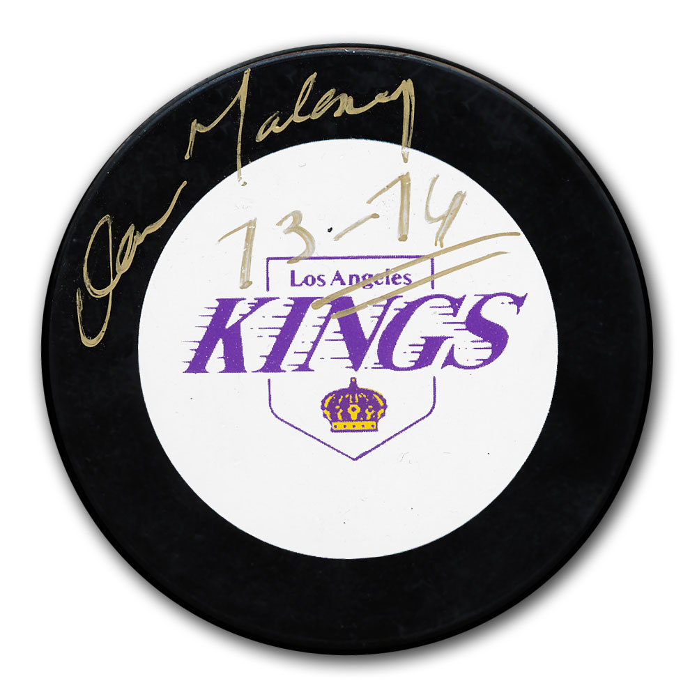 Dan Maloney Los Angeles Kings Autographed Puck