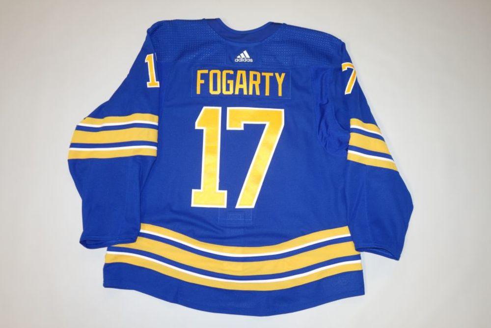 Steven Fogarty 2020-21 Buffalo Sabres Set 2 Home Jersey