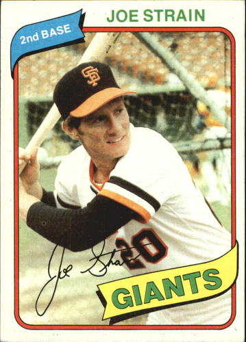 Photo of 1980 Topps #538 Joe Strain