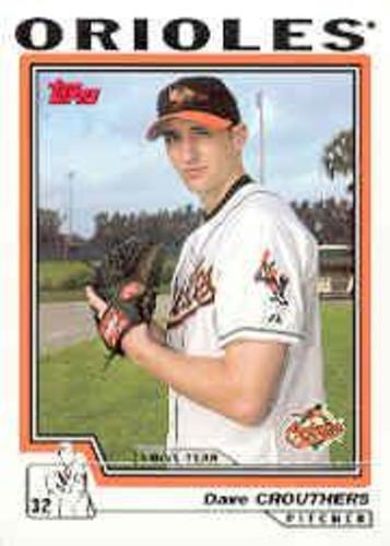Photo of 2004 Topps #304 Dave Crouthers FY RC