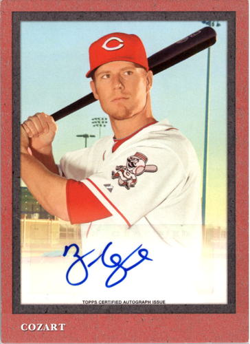Photo of 2014 Topps Turkey Red Autographs #TRA23 Zack Cozart/99