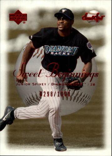 Photo of 2001 Sweet Spot #81 Junior Spivey SB RC