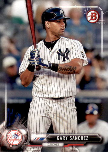 Photo of 2017 Bowman #85 Gary Sanchez