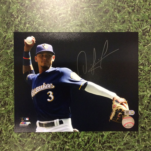 "Photo of Orlando Arcia Autographed 8"" x 10"" Photo"