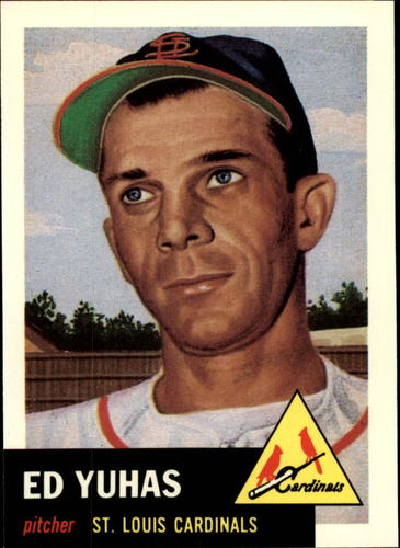 Photo of 1991 Topps Archives 1953 #70 Ed Yuhas