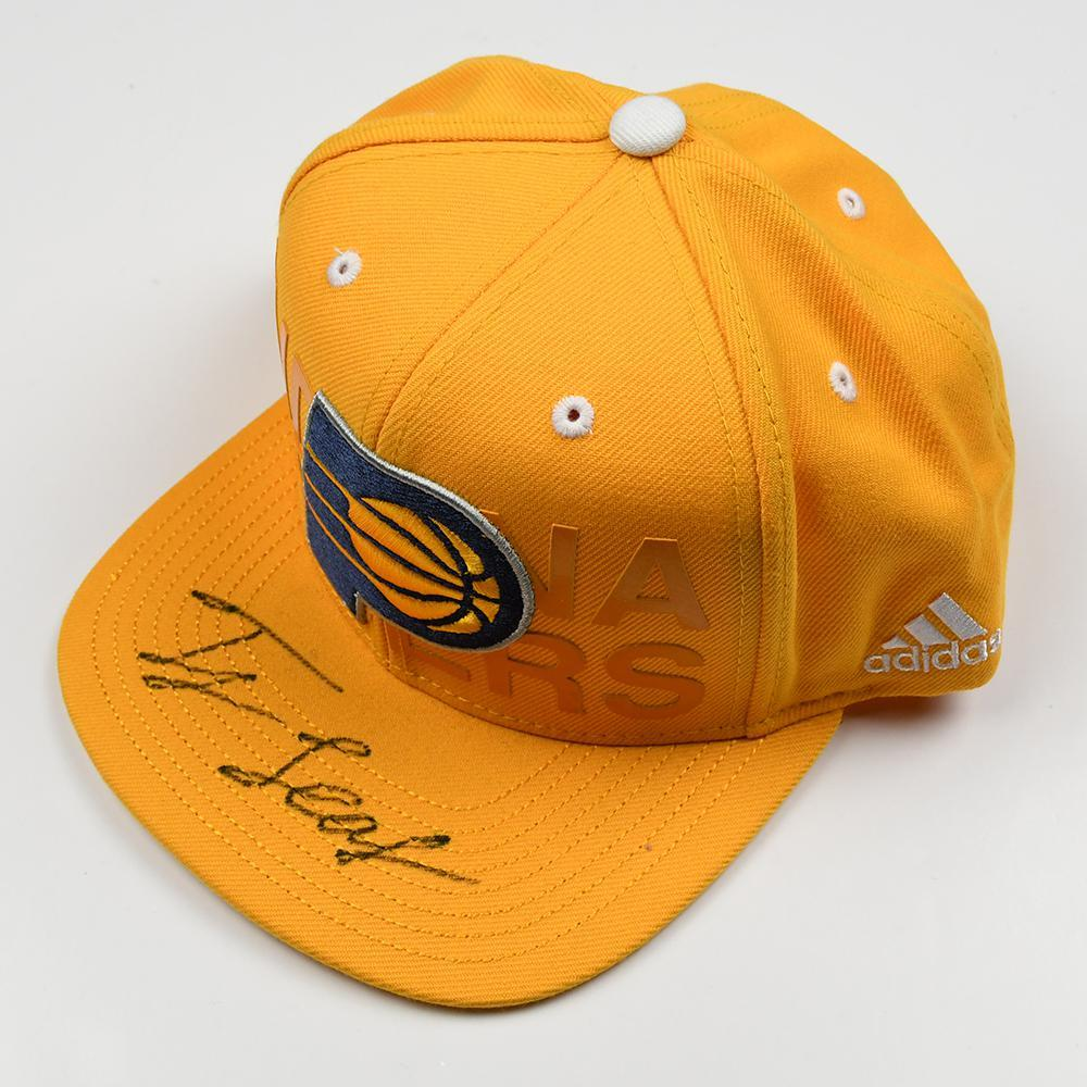 TJ Leaf - Indiana Pacers - 2017 NBA Draft - Autographed Hat