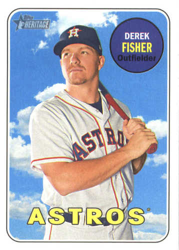 Photo of 2018 Topps Heritage #56 Derek Fisher