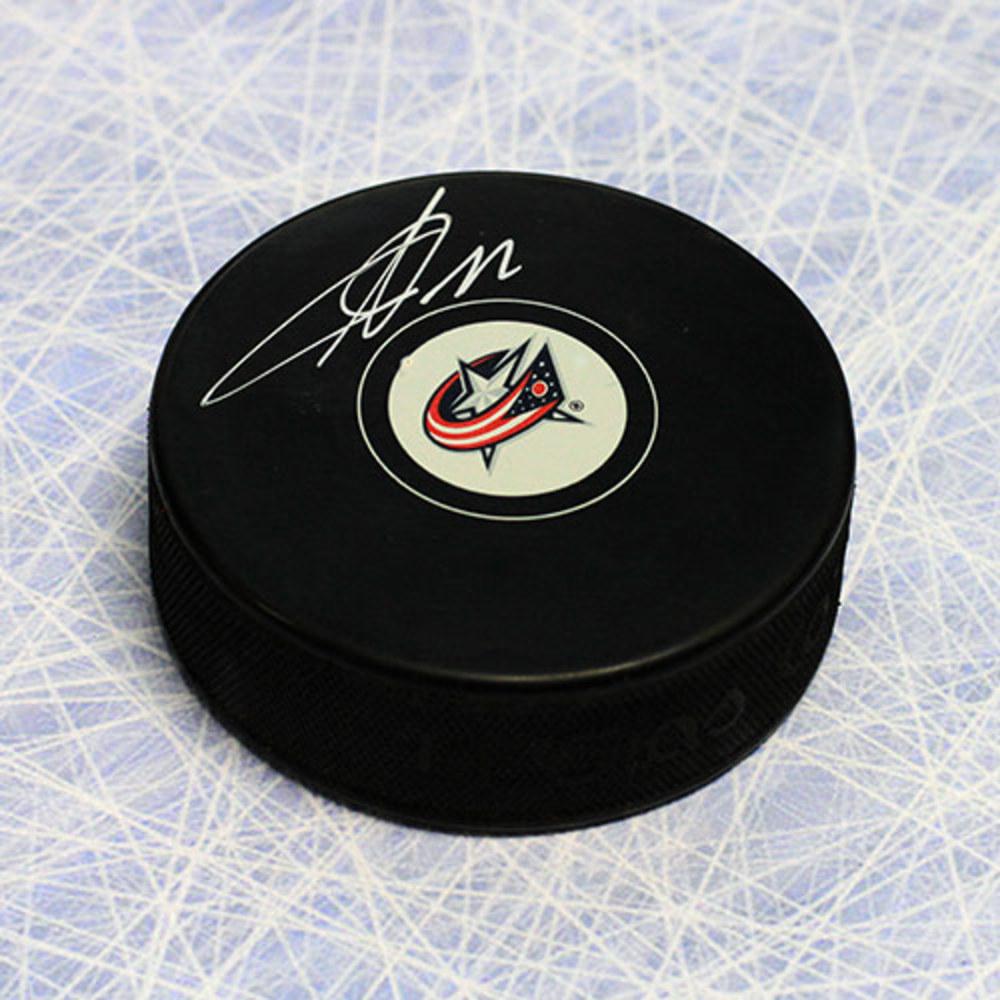 Sergei Bobrovsky Columbus Blue Jackets Autographed Hockey Puck