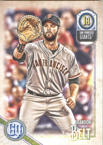 Photo of 2018 Topps Gypsy Queen #182 Brandon Belt