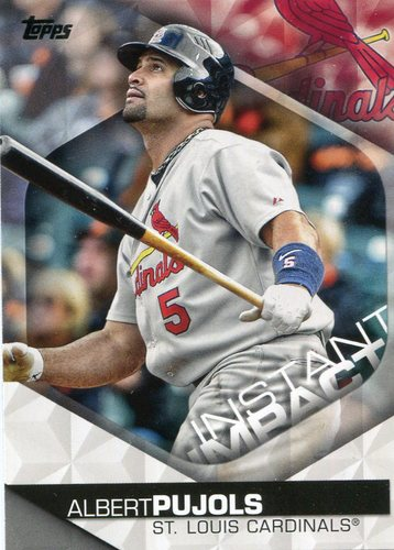 Photo of 2018 Topps Instant Impact #II6 Albert Pujols
