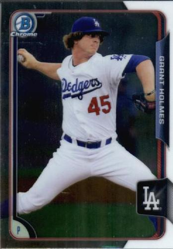 Photo of 2015 Bowman Chrome Draft #160 Grant Holmes