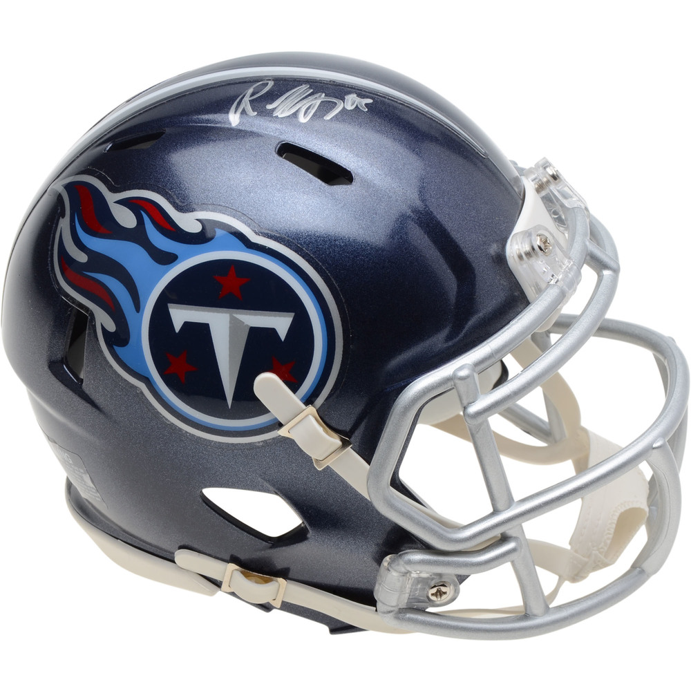 Roman Josi Nashville Predators Autographed Tennessee Titans Mini Helmet - NHL Auctions Exclusive