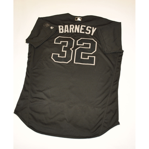 "Photo of Matt ""BARNESY"" Barnes Boston Red Sox Game-Used 2019 Players' Weekend Jersey"