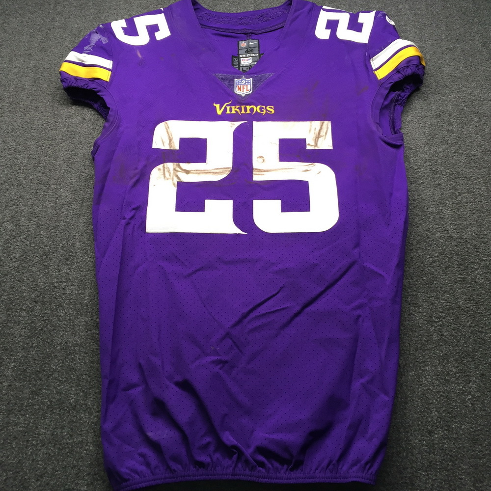 NFL Auction | STS - Vikings Latavius Murray Game Used Jersey Size ...