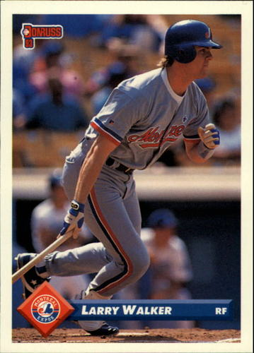 Photo of 1993 Donruss #540 Larry Walker