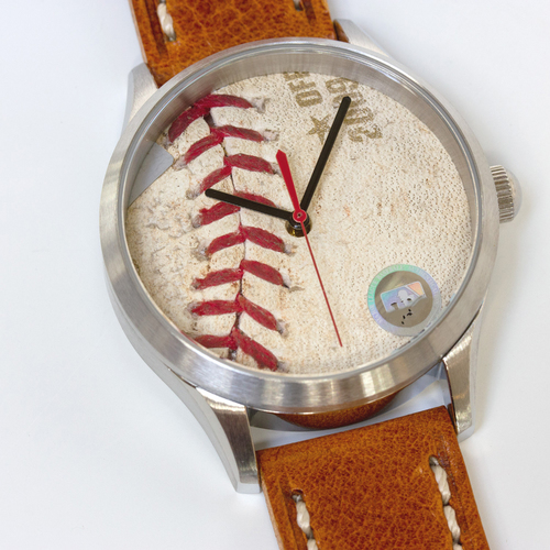 Photo of Tokens & Icons New York Yankees 2009 World Series Game Used Baseball Watch W/ Marks - Game 5