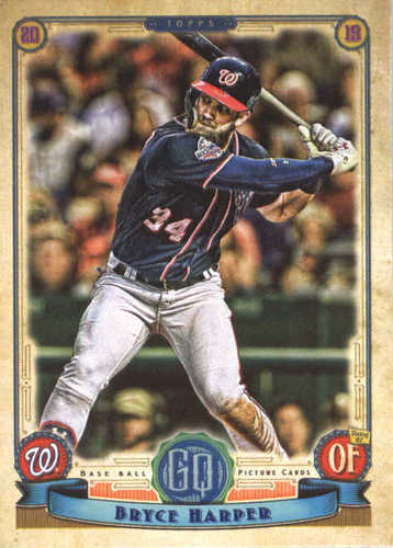 Photo of 2019 Topps Gypsy Queen #105 Bryce Harper