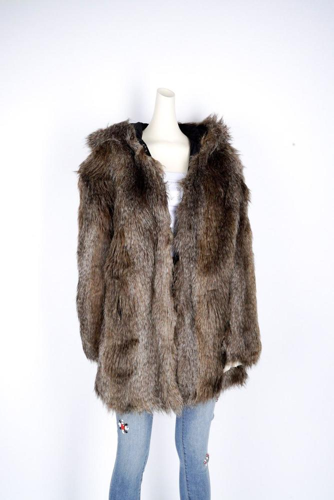 Photo of Juicy Couture Faux Fur Reversible Coat